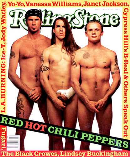 Naked Red Hot Chili Peppers – Hi mom. It's me. Beirut Boy.
